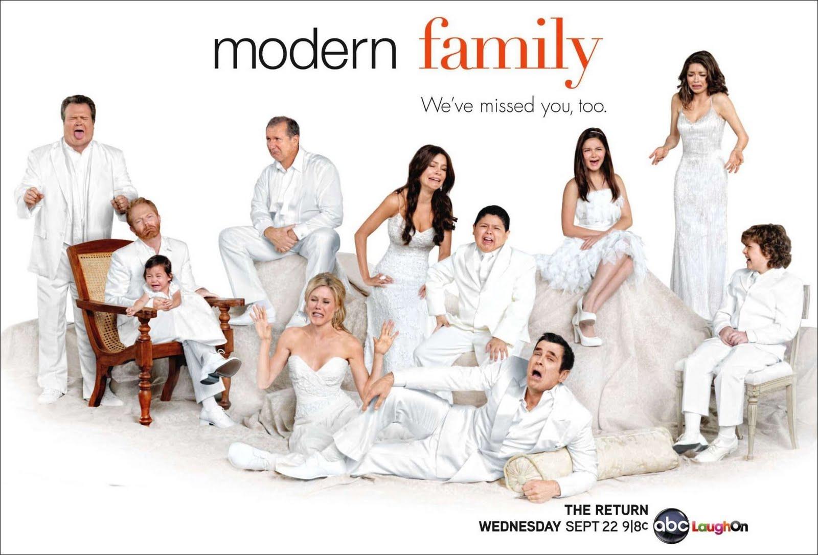 Las estrellas de Modern Family