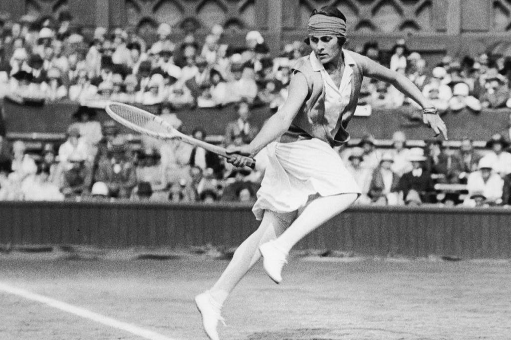 Lilí Álvarez, la primera tenista española en Roland Garros