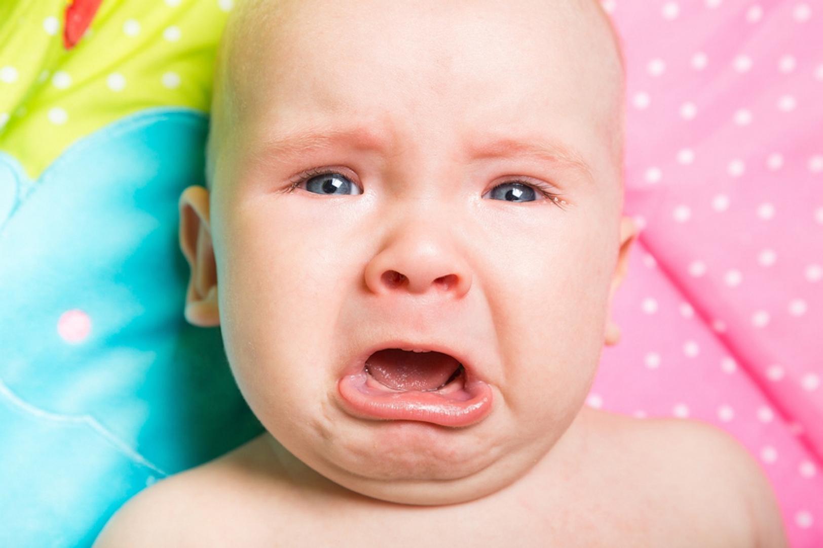 Los bebés británicos lloran más que los españoles