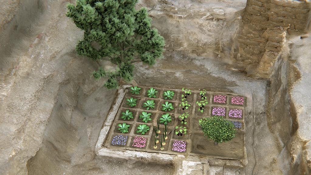 Los egipcios se llevaban este jardín a la tumba