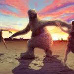 Los humanos primitivos cazaban perezosos gigantes