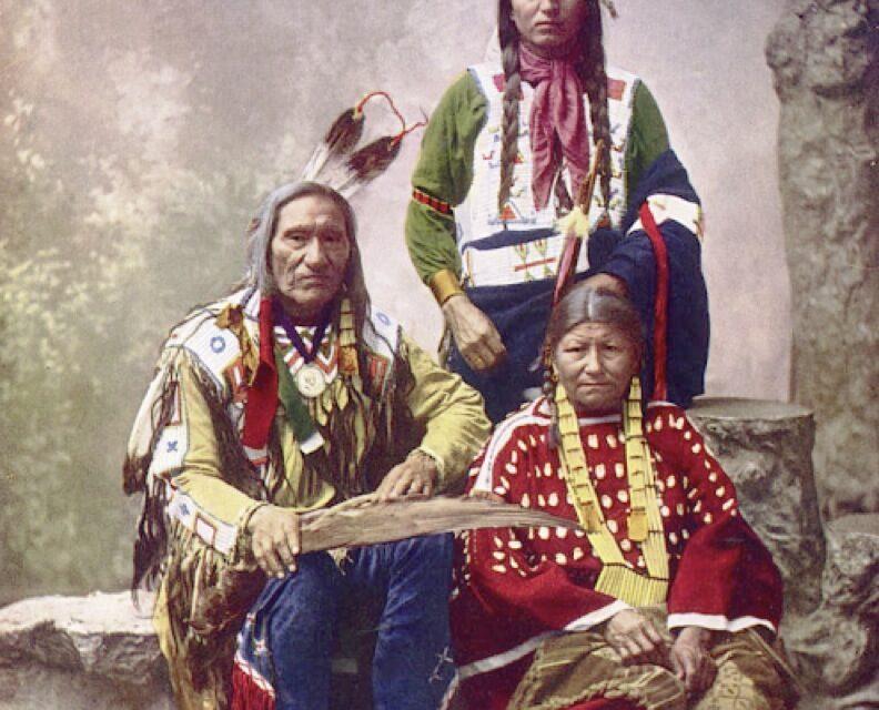 Los indios americanos a todo color