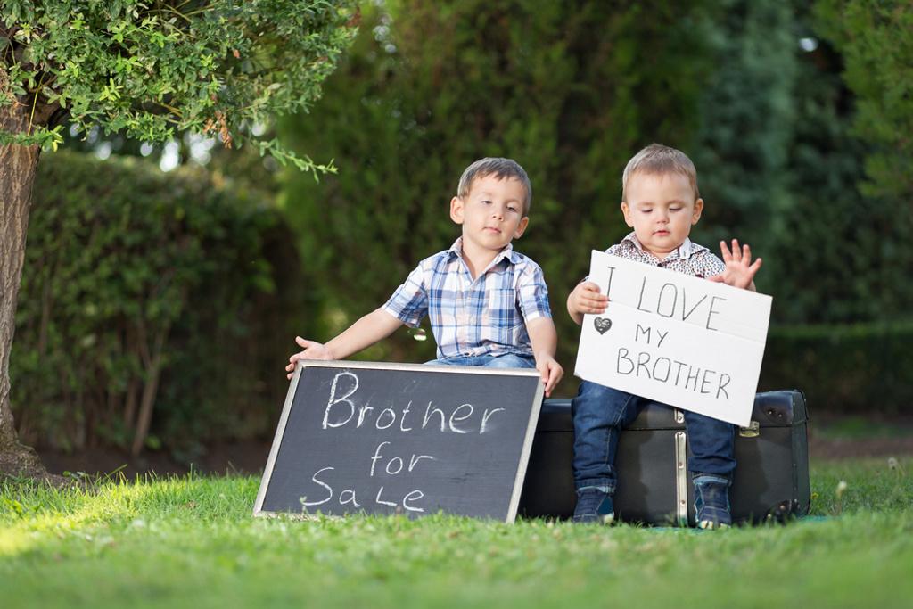 Los niños tienen más rivalidad con sus hermanos que las niñas