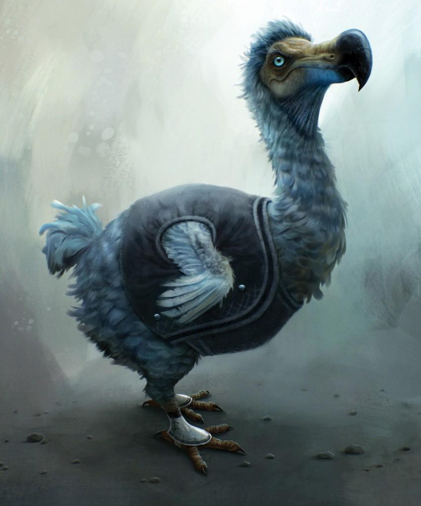 Los pájaros Dodo eran bastante inteligentes