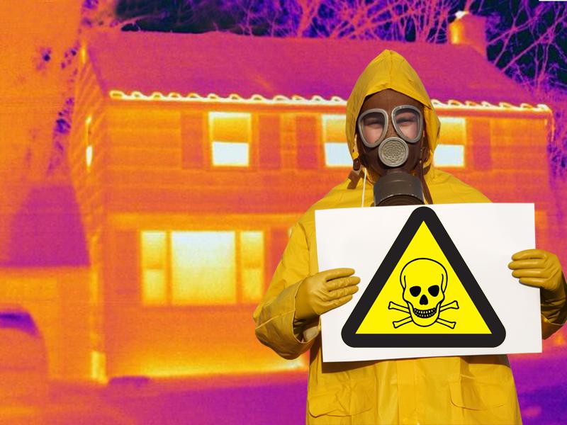 Los peligros del gas radón