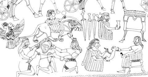 Los persas ya reconocían la existencia de un tercer género