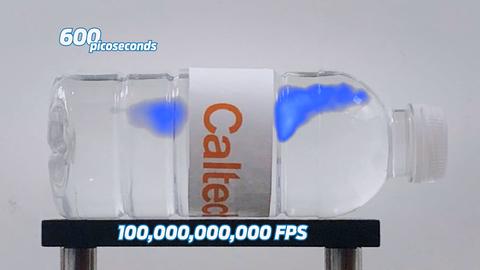 Así es como se ve la velocidad de la luz a cámara lenta
