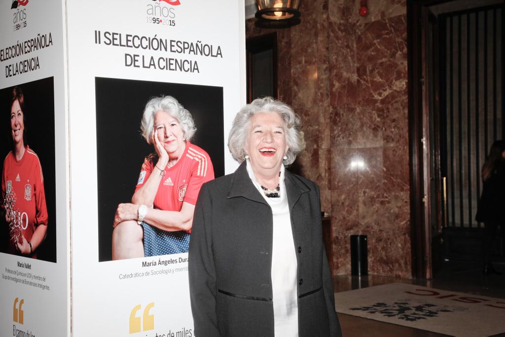 María Ángeles Durán Heras ha sido galardonada con el Premio Nacional de Sociología 2018