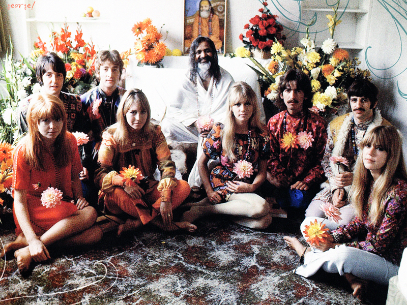 Meditación trascendental: The Beatles