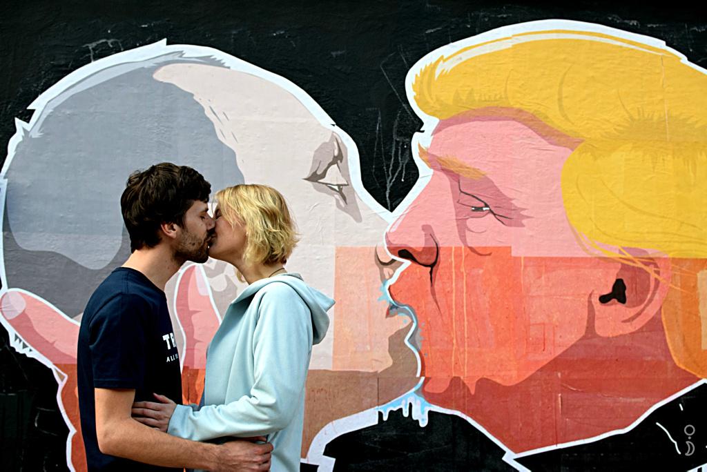 Los grafitis que Donald Trump desearía borrar