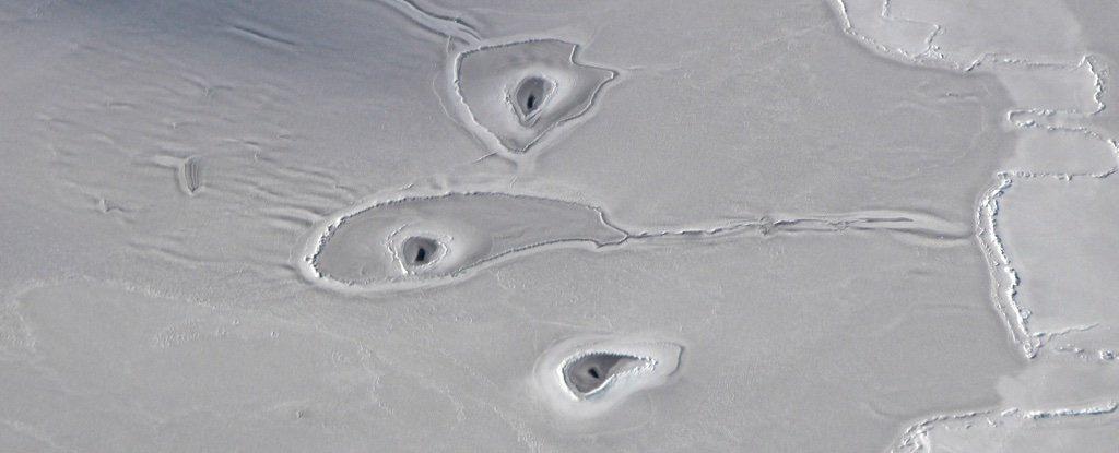 Nadie sabe aún cuál es el origen de estos misteriosos agujeros en el Ártico