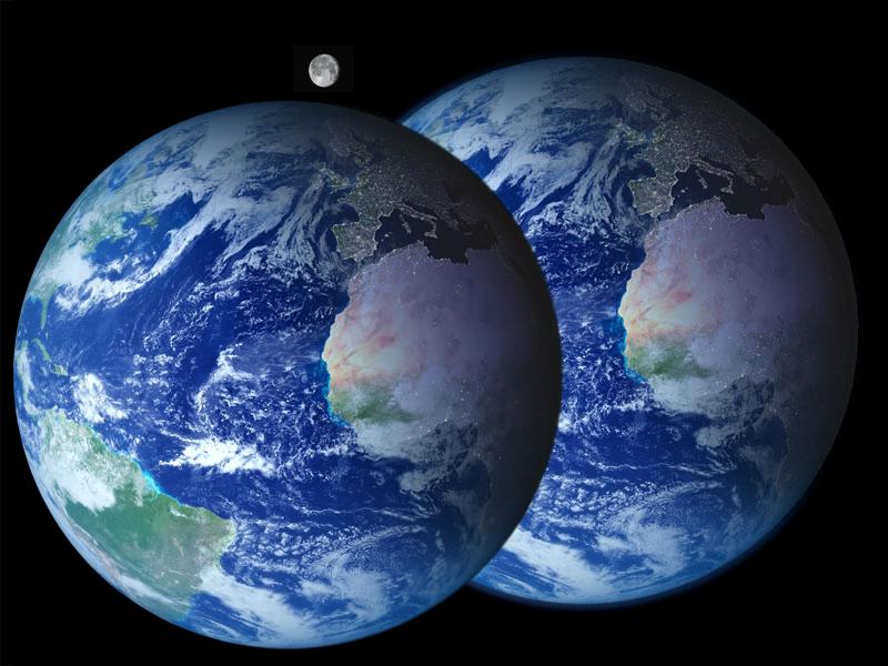 Necesitamos dos planetas