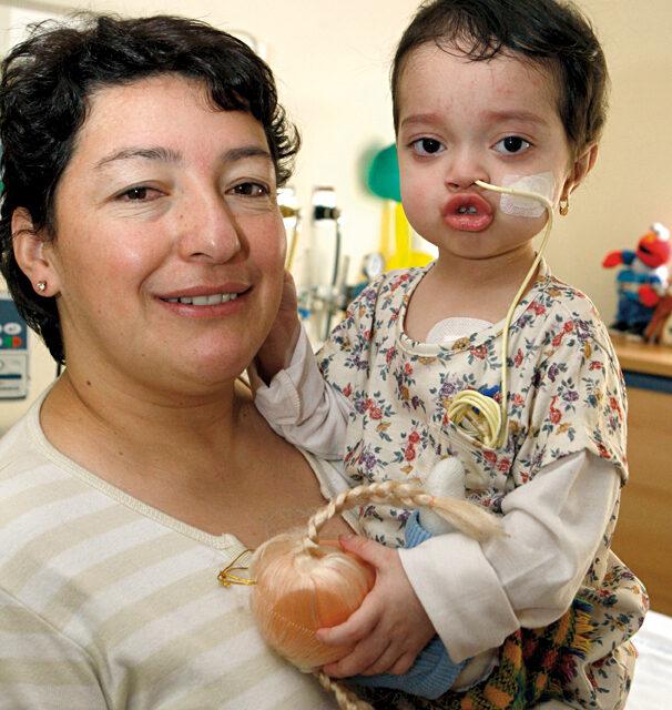 Niños con transplantes