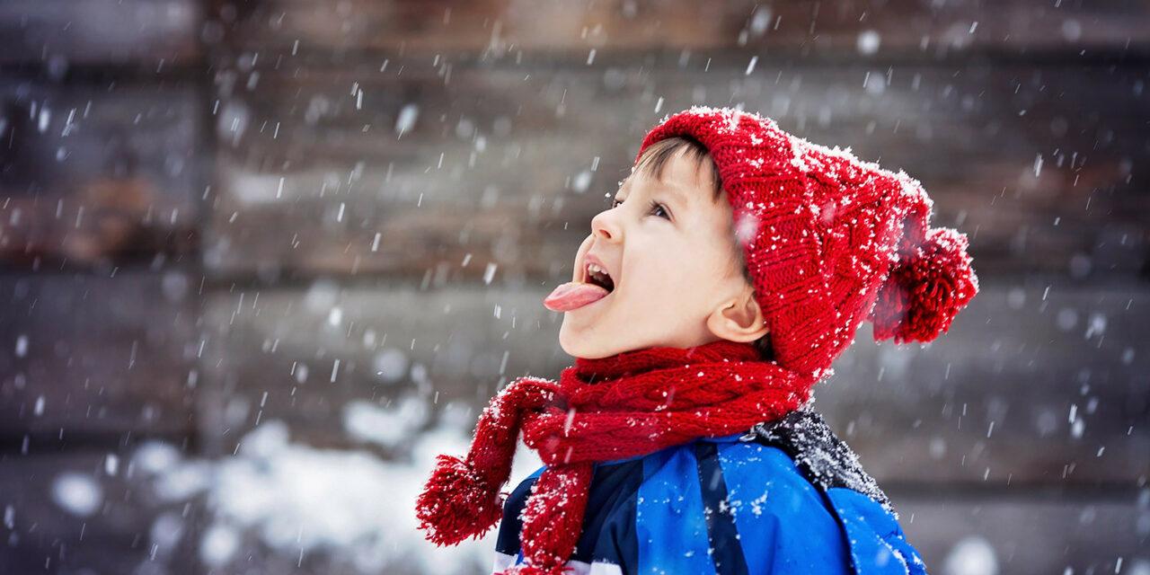 No es peligroso que tu hijo se coma algo de nieve si es muy fresca