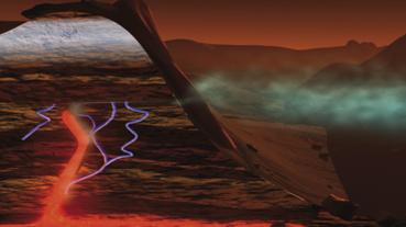 Nubes de metano en Marte
