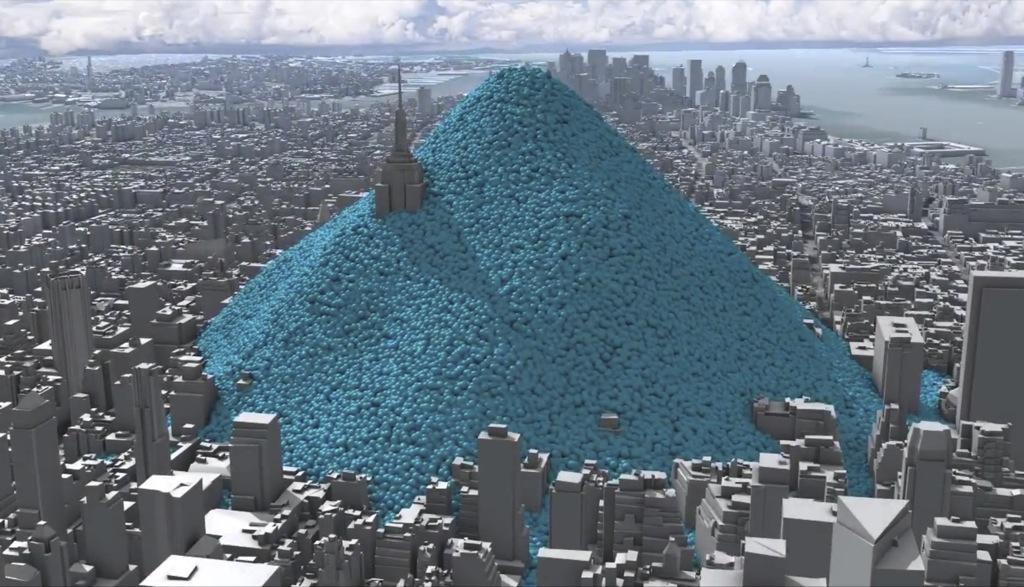 Nueva York, inundado de carbono azul