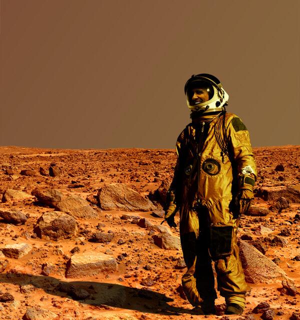 Obama estuvo en Marte