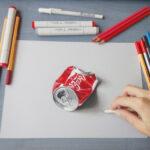 11 dibujos de objetos tan realistas que creerás que los puedes agarrar con la mano