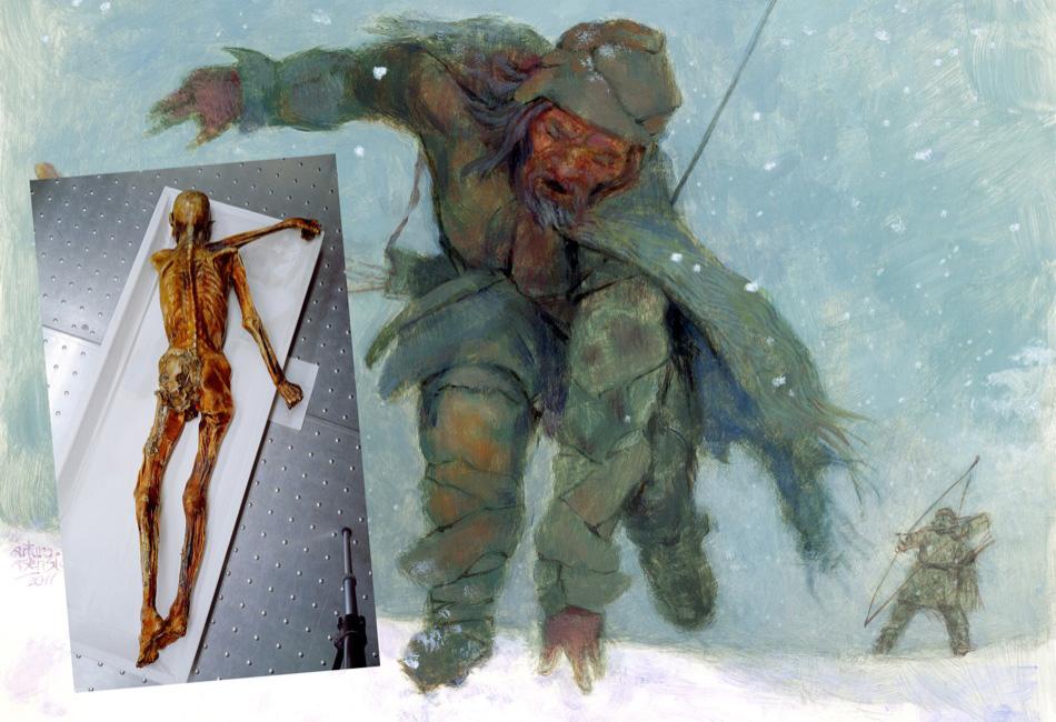 Ötzi desangrado