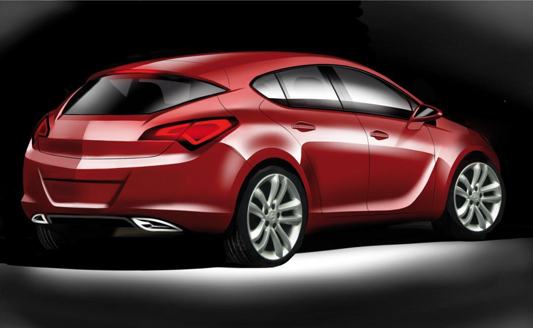 Opel Astra, huele a Insignia