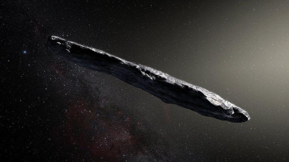 Oumuamua, el extraño asteroide que visita nuestro Sistema Solar