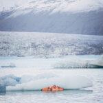 Pintando en icebergs