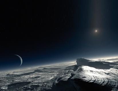 El clima en Plutón