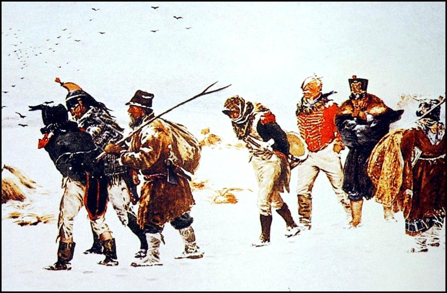 Pobres soldados de Napoleón