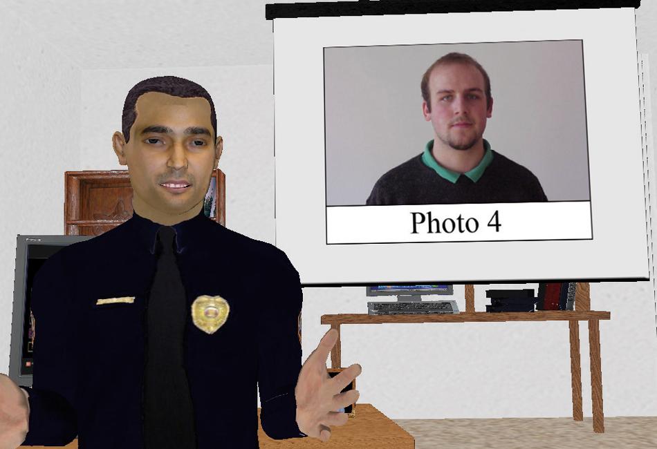 Un policía virtual