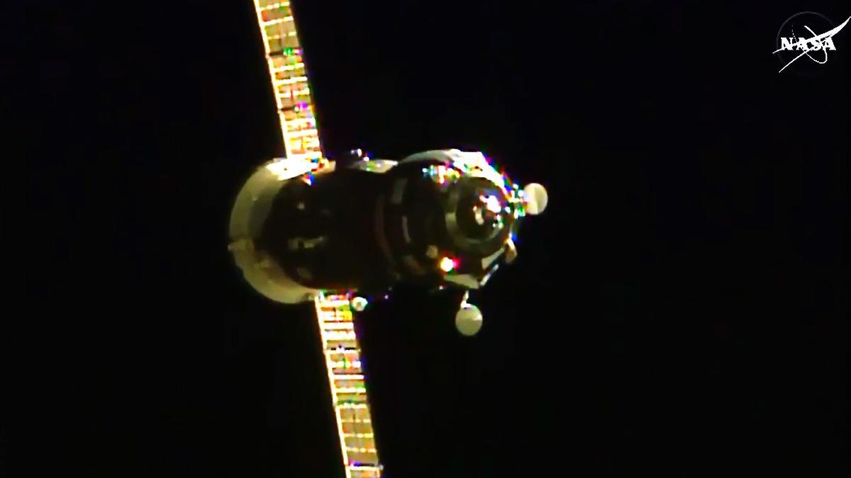 Por fin llegan suministros a la Estación Espacial Internacional
