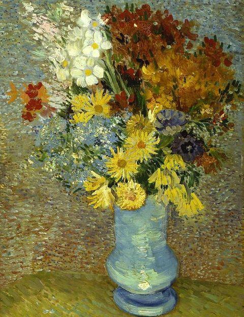 ¿Por qué las flores de Van Gogh cambian de color?