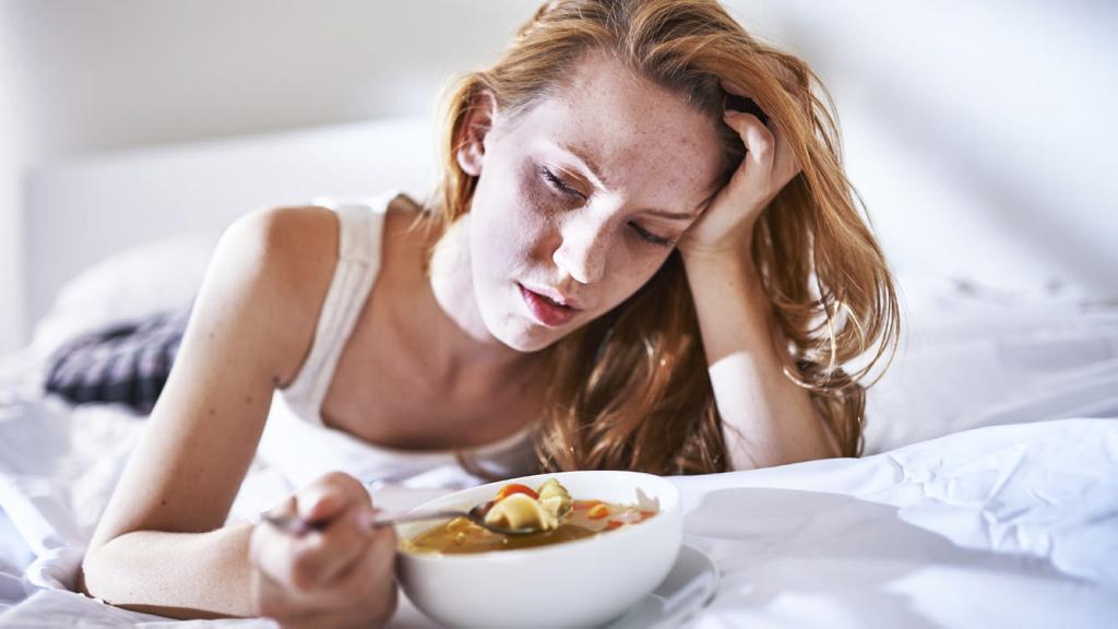 ¿Por qué perdemos el apetito cuando estamos enfermos?