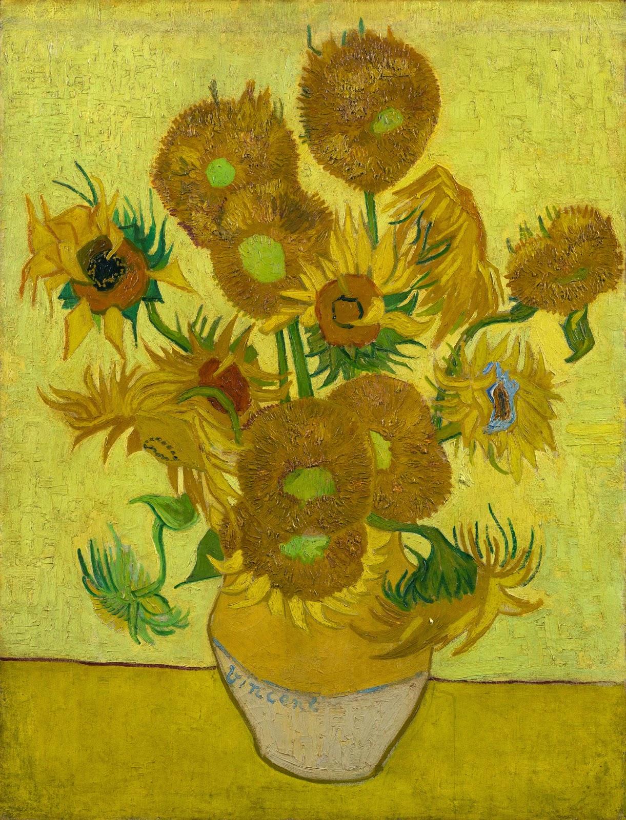 ¿Por qué se están marchitando los girasoles de Van Gogh?