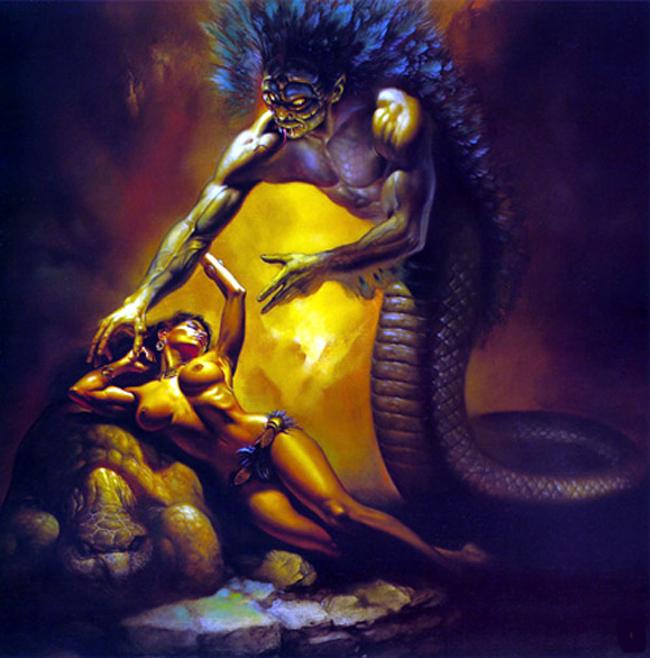 Q de Quetzalcóatl