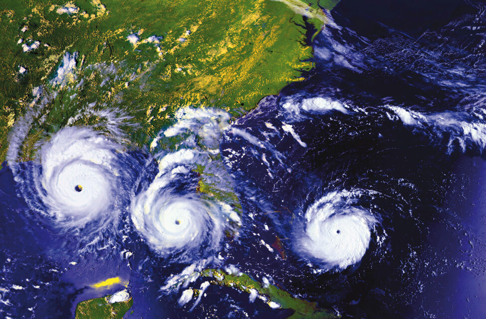 ¿Qué pasa dentro del ojo de un huracán?