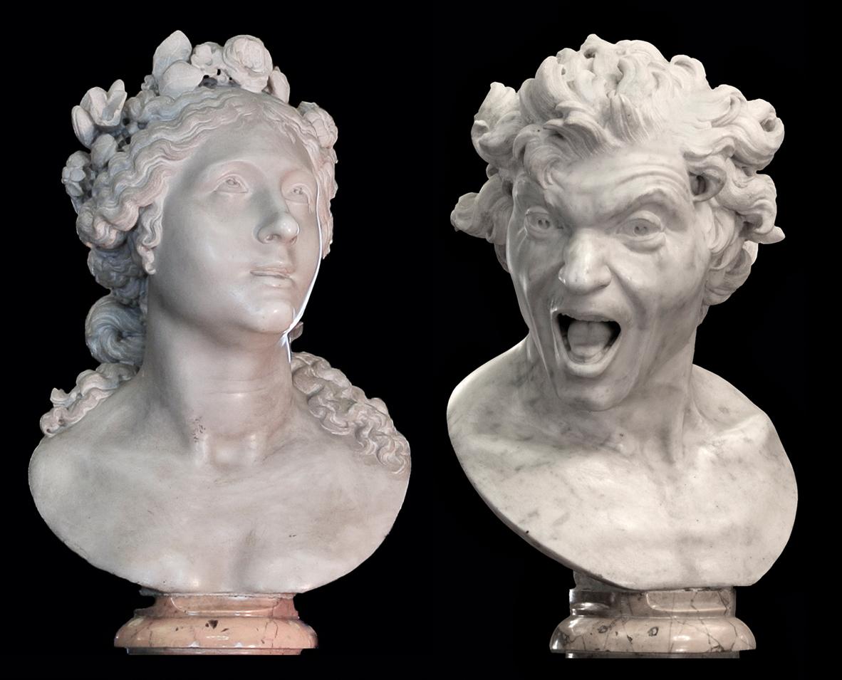 ¿Qué son realmente estas esculturas de Bernini?