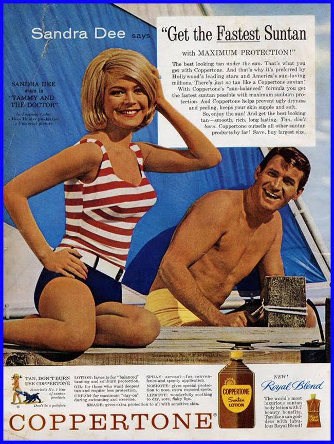 ¿Quién inventó el bronceador de piel?