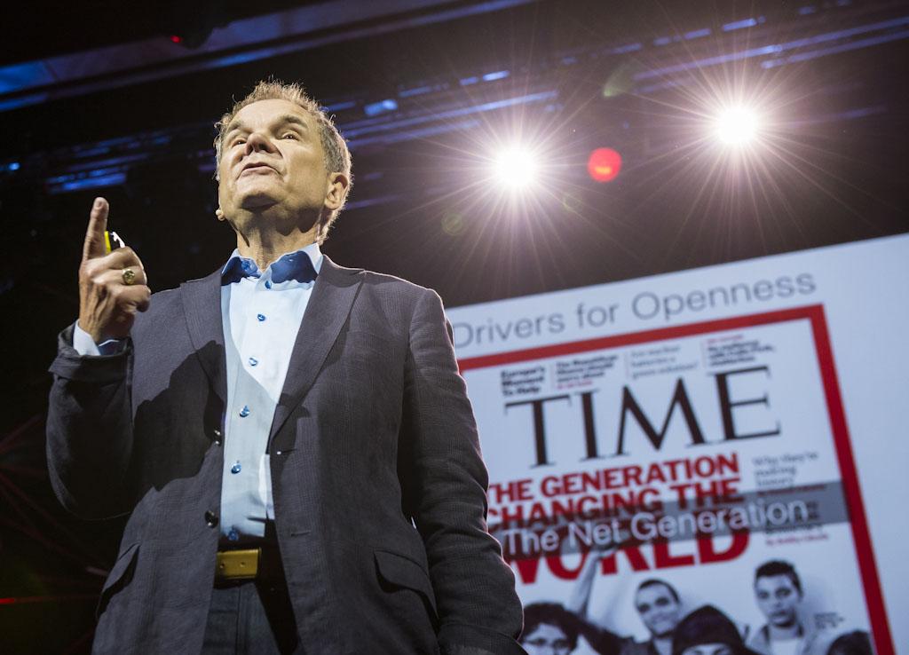 Quo está en TED Global