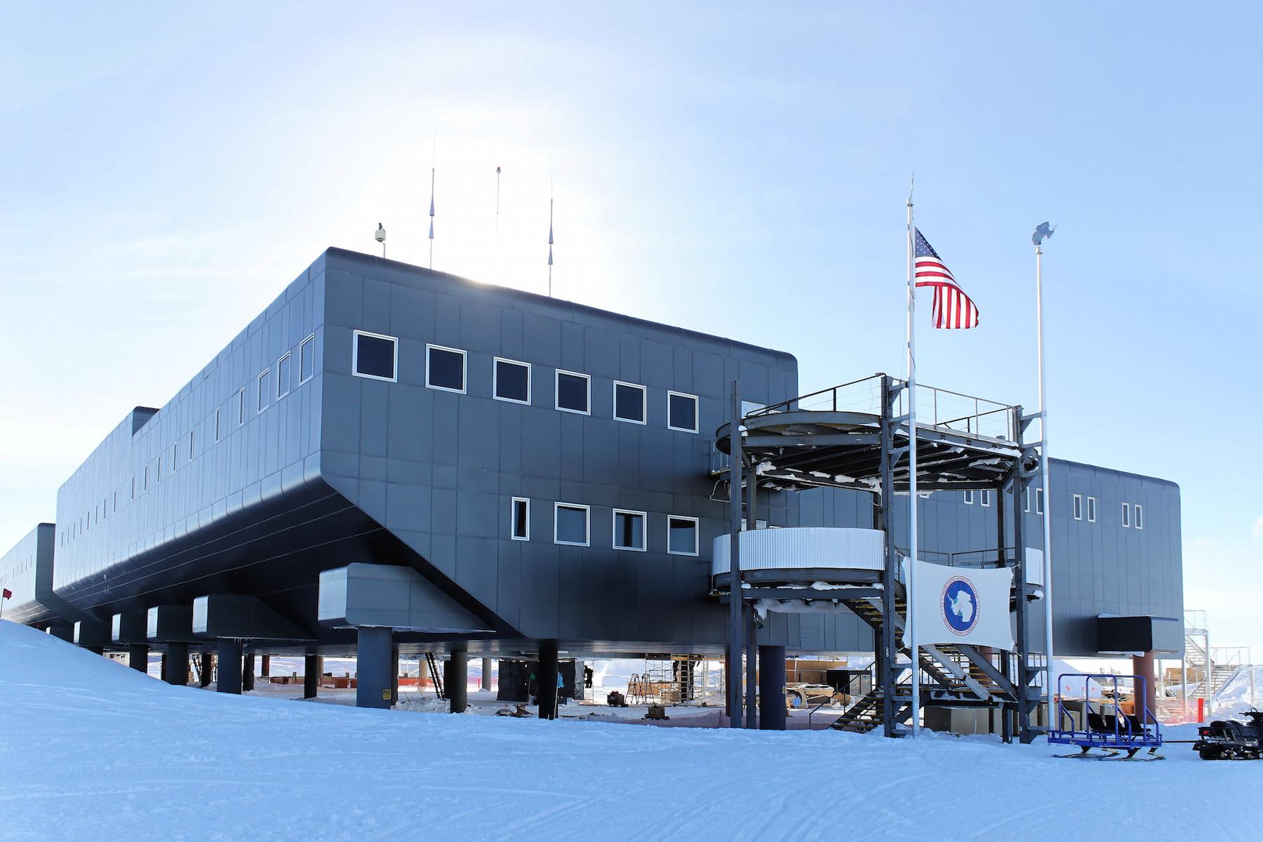 Rescate extremo de un científico en la base Amundsen-Scott