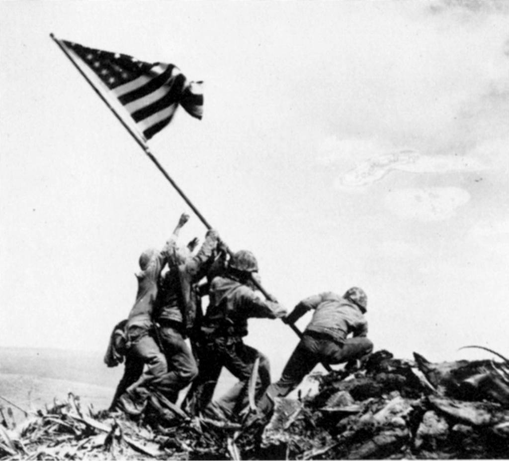 Resuelven el misterio de la famosa foto de Iwo Jima