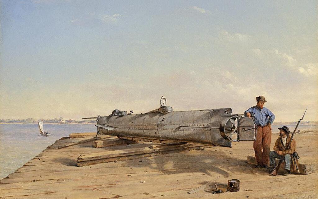 Resuelven el misterio del primer submarino que hundió a un buque enemigo