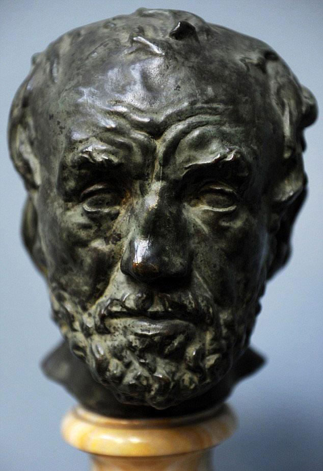 Roban una escultura de Rodin a plena luz del día
