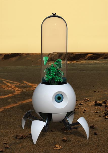 Robot invernadero