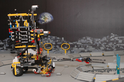 Robots de Lego para la Luna