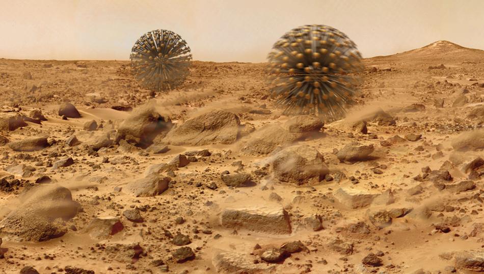 Robots eólicos para Marte