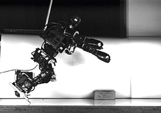 El robot futbolista