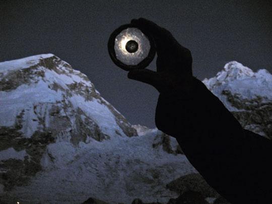 Rocas lunares al Everest