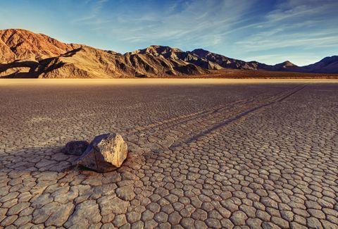 Aparece un gran lago en el lugar más seco y caluroso de América del Norte