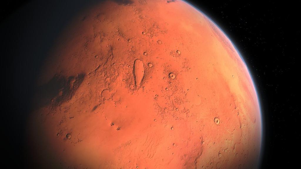 ¿Se está moviendo Marte hacia atrás?