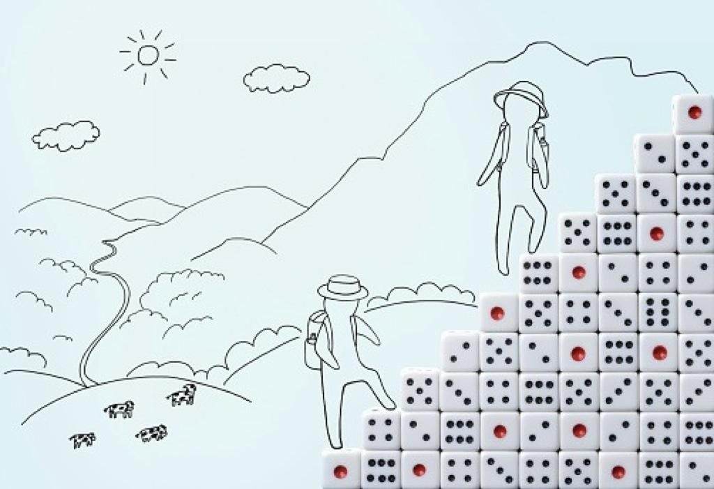 Seis paisajes imaginarios